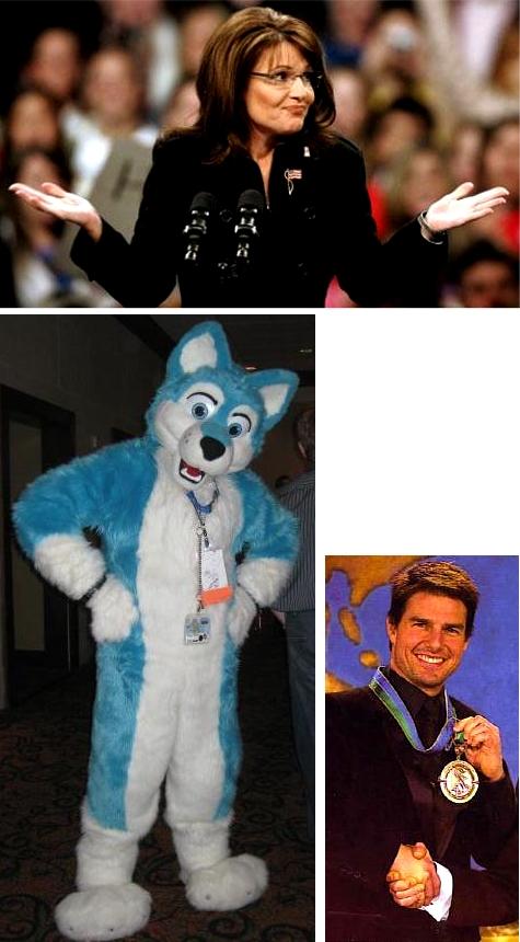 Sarah Palin, a Furry, and a Scientologist walk into a bar.