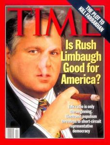 Limbaugh Is a Hypocrite, Scum Bag, Draft Dodging, Drug Addict Scum Bag